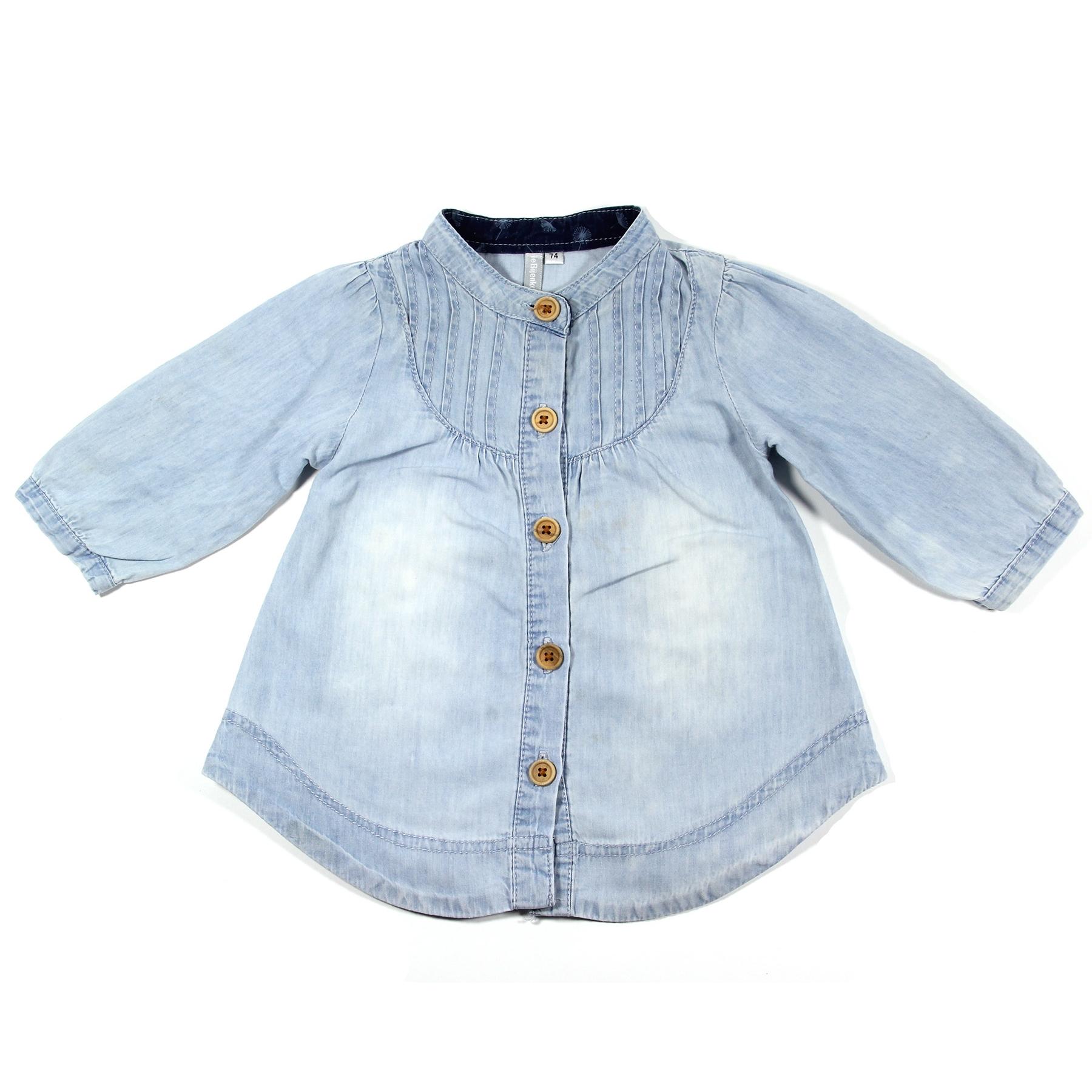 Kinderkleding Winkel Te Koop.De Bijenkorf Tuniek Blauw Maat 74 80 Bij Tweedehandjes Com